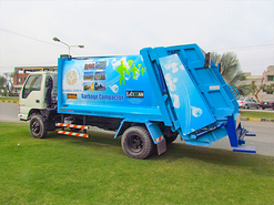 Garbage Compactor Truck graphic