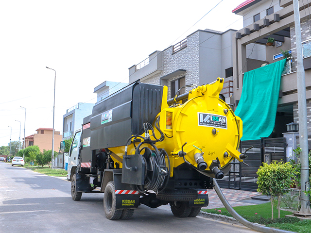 Combined Sewer Suction and Jetting Unit