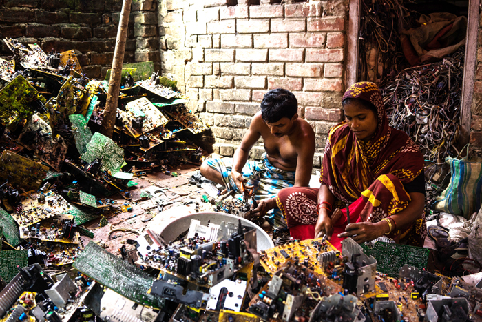 E-Waste Market Stalls, Dumping And Household-Style Recycling
