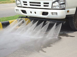 Road Washer Truck graphic
