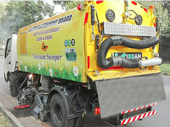 Vacuum Road Sweeper graphic