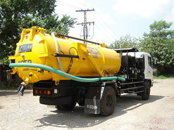 Vacuum Sewer Suction Truck graphic