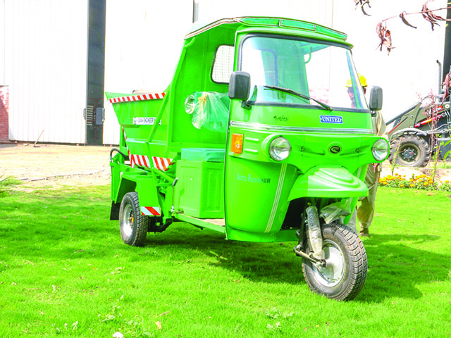 Rickshaw Mini-Tipper