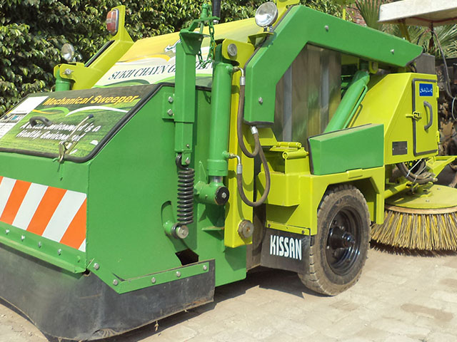 Mechanical Street Sweeper