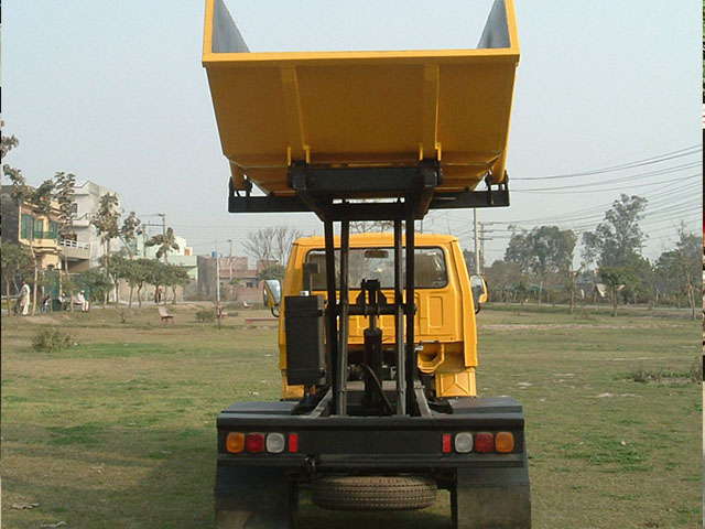 Two Stage Tipper
